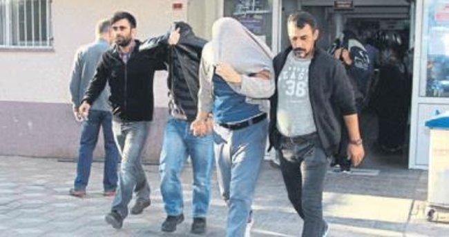 Manisa'da 10 polis cezaevine konuldu