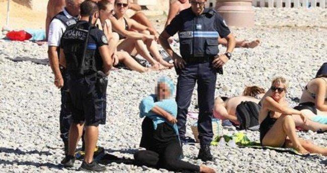 Burkini yasak çıplaklık serbest