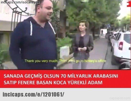 Fenerbahçe Galatasaray maçının capsleri