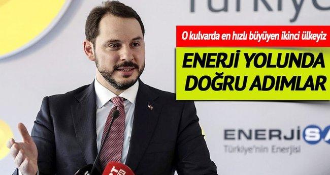 'Türkiye enerjide doğru yolda ilerliyor ve büyüyor'