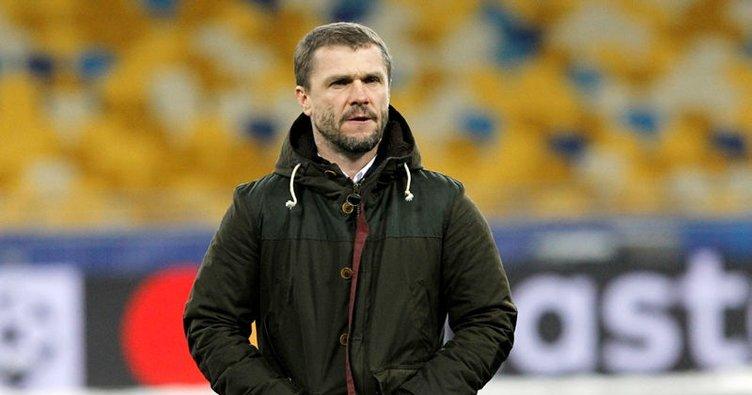 Dinamo Kiev'de Rebrov dönemi sona erdi