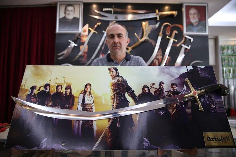 Kılıç üreticileri 'dönem' dizilerinden memnun
