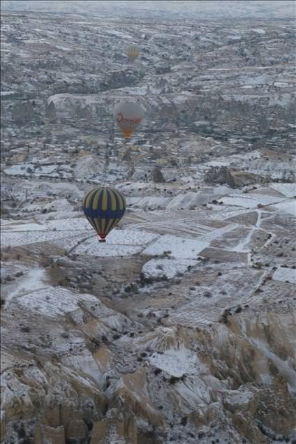 Kapadokya'da kış