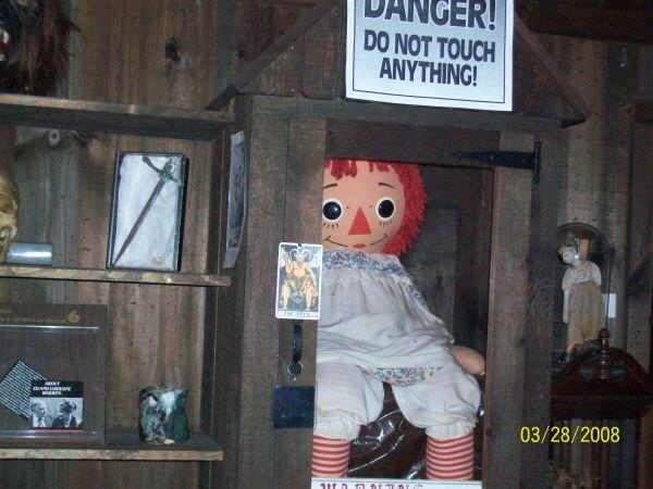 Annabelle'nin gerçek hikayesi