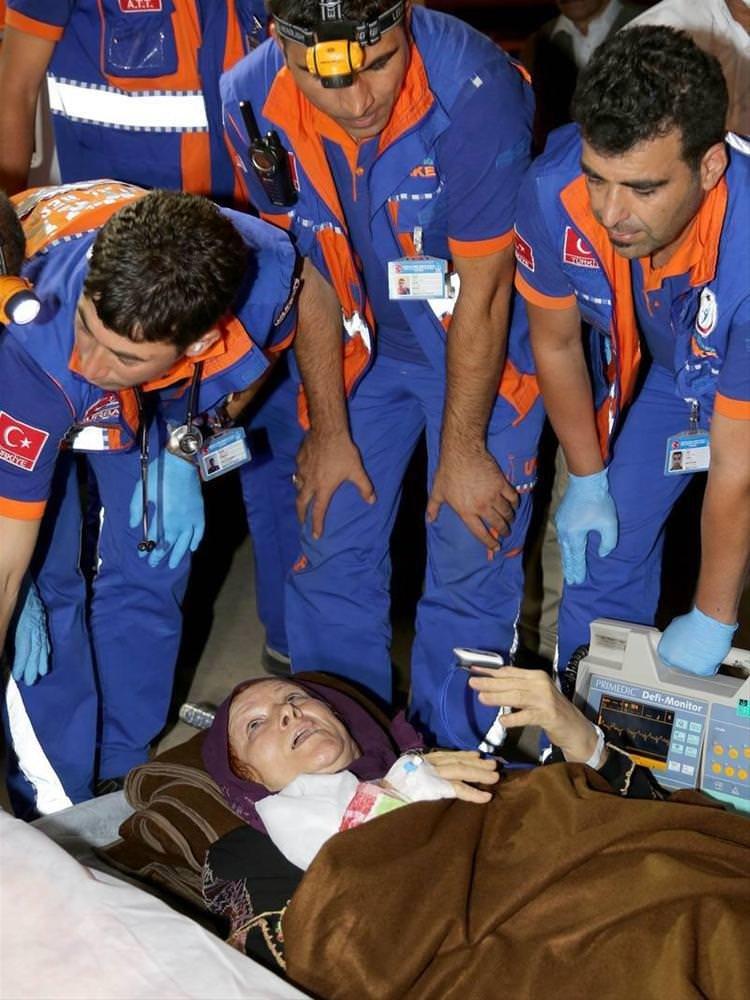 Filistinli yaralılar İzmir'de