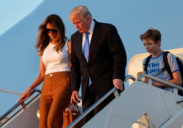 Melania Trump'ın babasının şaşırtan benzerliği