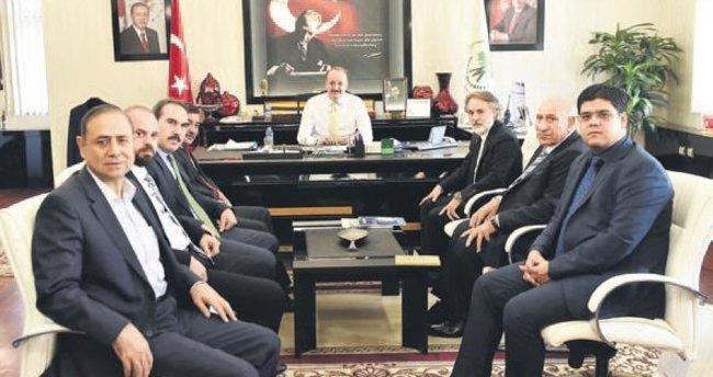 MÜSİAD Ankara'dan Akgül'e ziyaret
