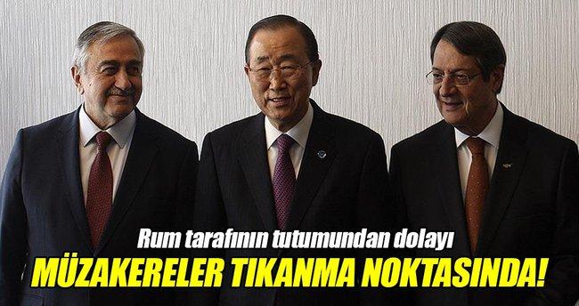 İsviçre'deki Kıbrıs müzakereleri tıkanma noktasında!