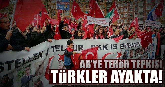AB'ye terör tepkisi Türkler ayakta