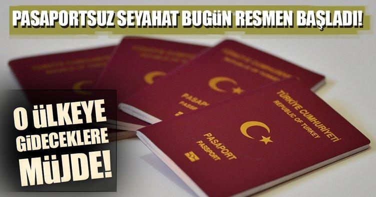 Ukrayna'ya pasaportsuz seyahat uygulaması bugün başlıyor
