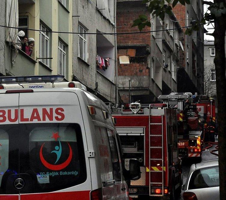 Esenler'de yangın: 2 kişi yaşamını yitirdi