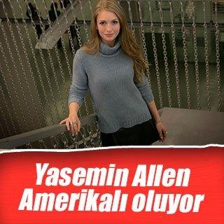 Yasemin Allen, Amerikalı oldu
