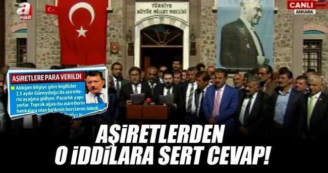 Aşiret Temsilcileri Ankara'da