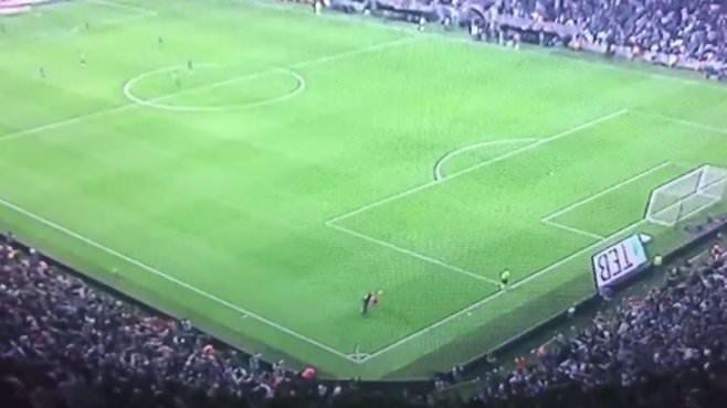 Vodafone Arena'da gözden kaçan detay