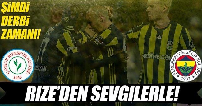 Rize'de Fenerbahçe farkı
