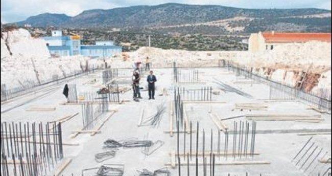 Demre'deki HEM inşaatı bitiyor