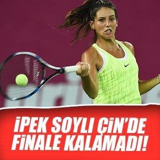 İpek Soylu Çin'de finale kalamadı