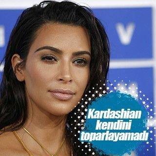 Kim Kardashian kendini toparlayamadı