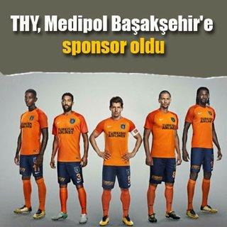 THY, Medipol Başakşehir'e sponsor oldu