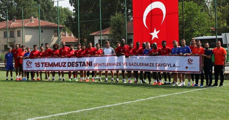 Yeni Malatyaspor, 15 Temmuz Destanı'nı unutmadı