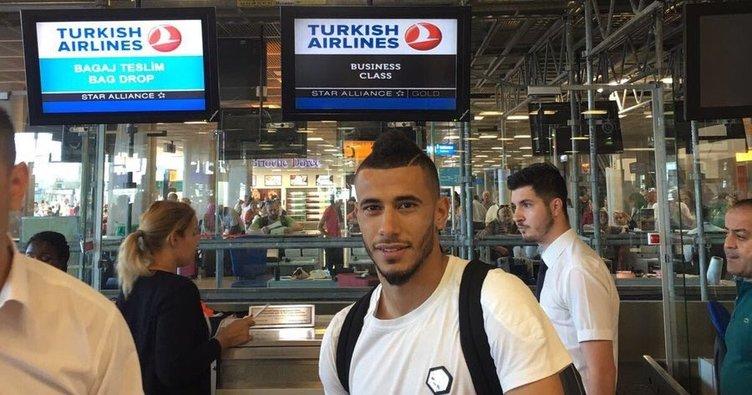Belhanda, İstanbul'a doğru yola çıktı
