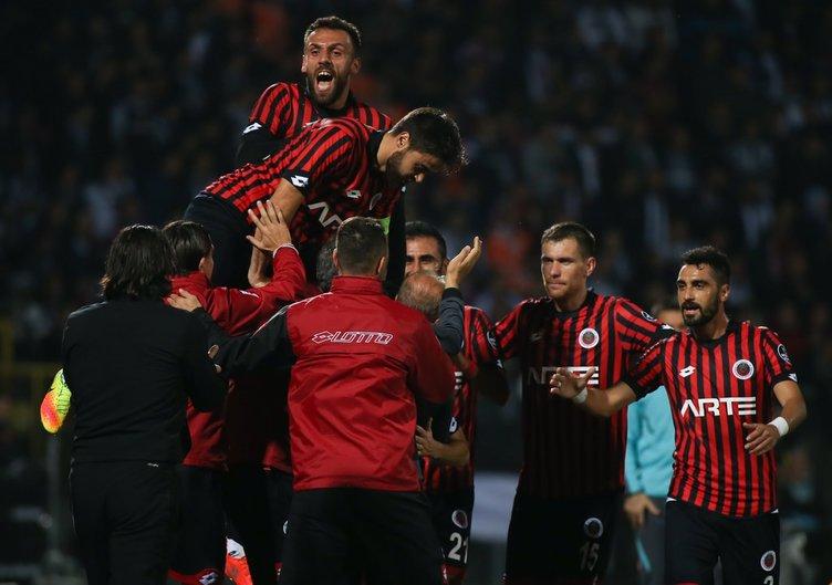 Gençlerbirliği Beşiktaş maçından kareler