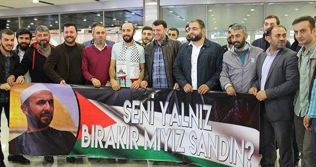 İsrail'in serbest bıraktığı Türk vatandaşı yurda döndü