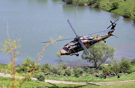 Komandoların 'Erciyes Arazi' tatbikatı