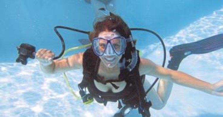 Kadın dalgıçlara özel program