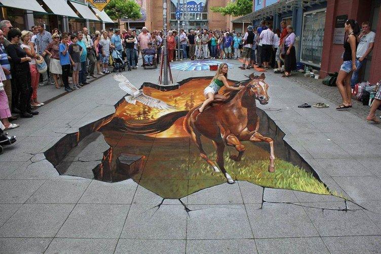 Sokak sanatı deyince...