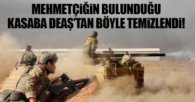 PEŞMERGE BAŞİKA'YI DEAŞ'TAN BÖYLE TEMİZLEDİ!