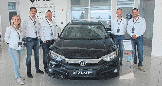 Yenilenen Honda Civic tanıtılıyor