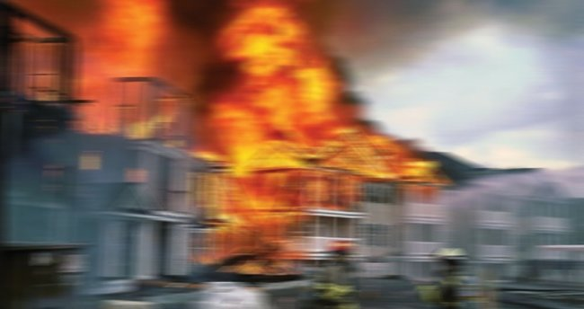 Batman'da yangın: 18 kişi zehirlendi