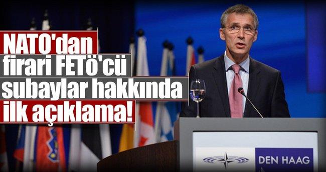 NATO'dan firari FETÖ'cü subaylar hakkında ilk açıklama!