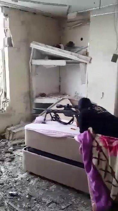 PKK'nın düzenekleri böyle görüntülendi!