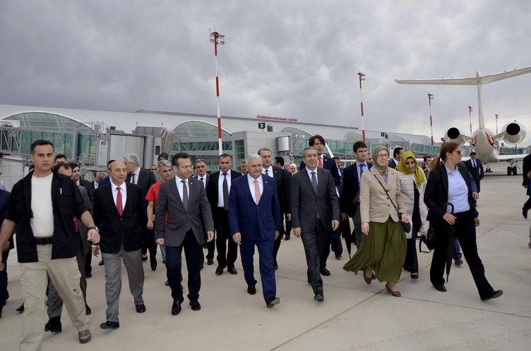 Binali Yıldırım'dan Diyarbakır'a ziyaret