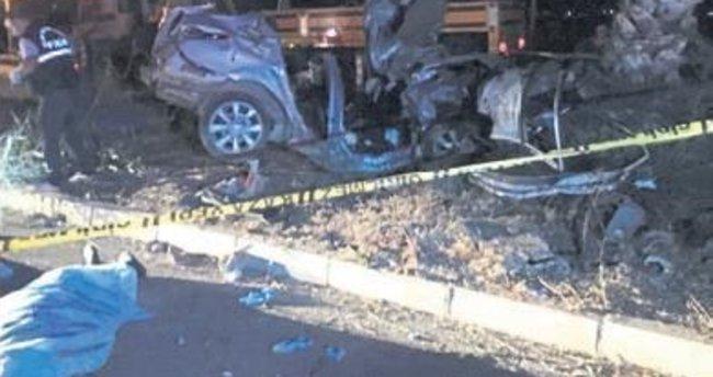 Gazipaşa'da kaza: 3 ölü, 1 yaralı