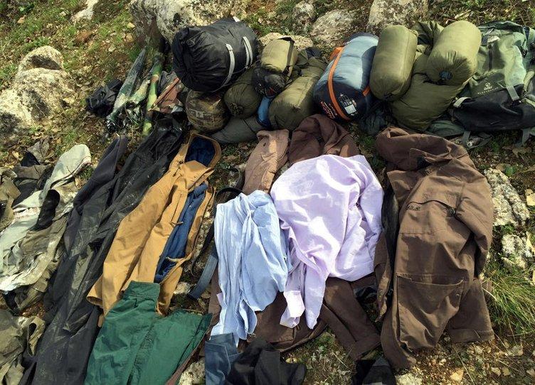 Eruh'ta PKK'nın mühimmatı ele geçirildi