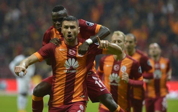 Galatasaray - Akhisar Belediyespor maçının fotoğrafları