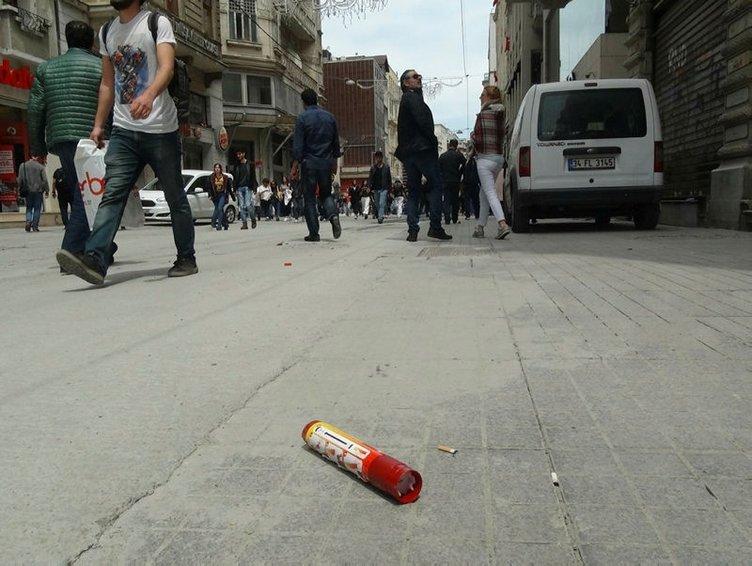 Final Four öncesi Taksim ve Şirinevler'de taraftar kavgası