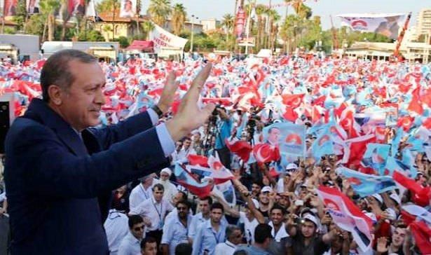 Erdoğan'ın en çok oyu aldığı 100  il ve ilçe