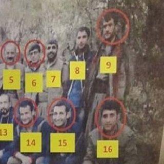 PKK'nın üst düzey 16 yöneticisinden 9'u öldürüldü