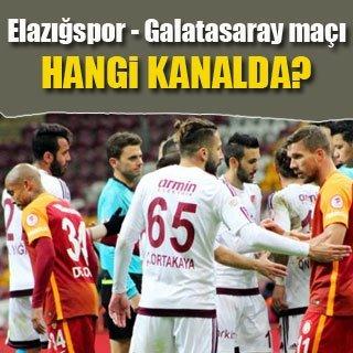 Elazığspor - Galatasaray maçı ne zaman saat kaçta hangi kanalda