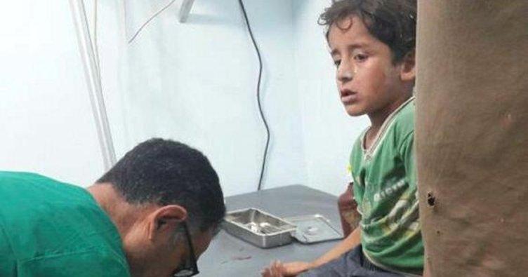 PKK-PYD Azez ve Mare'de sivilleri top atışıyla vurdu