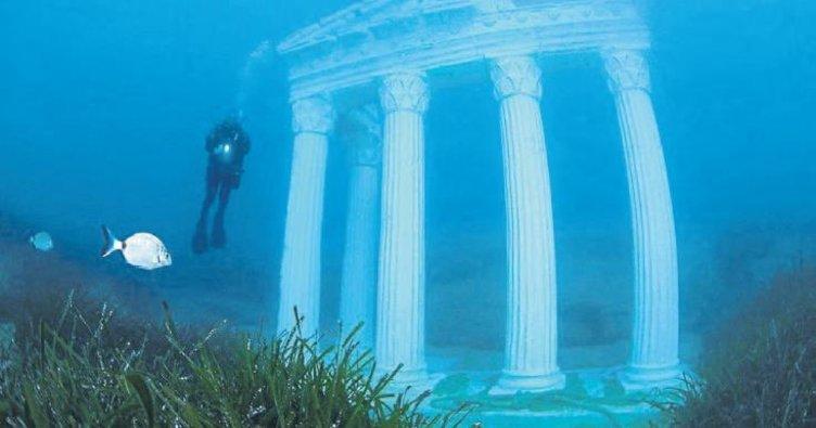 Apollon Tapınağı deniz altına taşındı