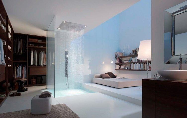 Duşta hamak keyfi
