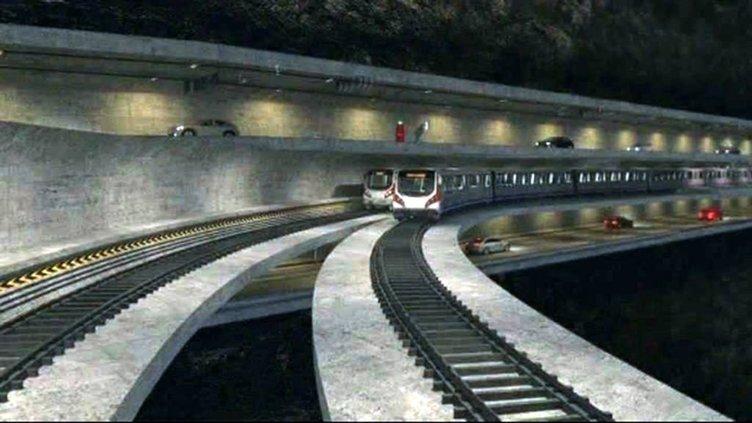 Başbakan Davutoğlu Mega Proje'yi açıkladı