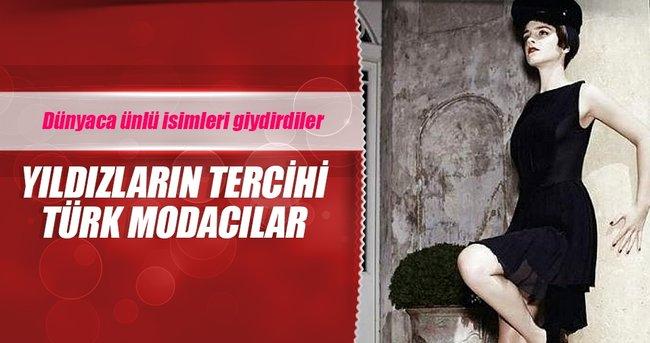 Yıldızların tercihi Türk modacılar