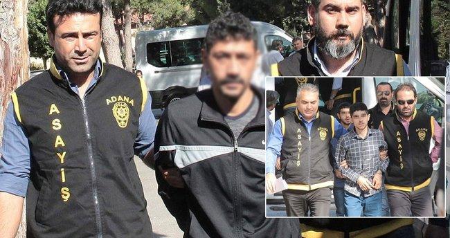 İkiz gaspçılar ve dayıları tutuklandı