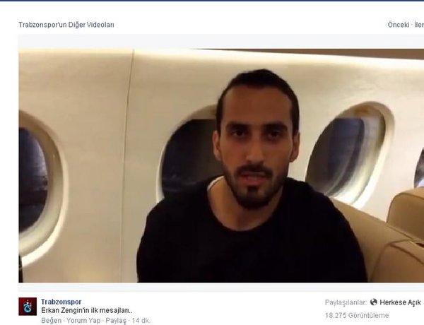 Erkan Zengin Trabzonspor'u böldü